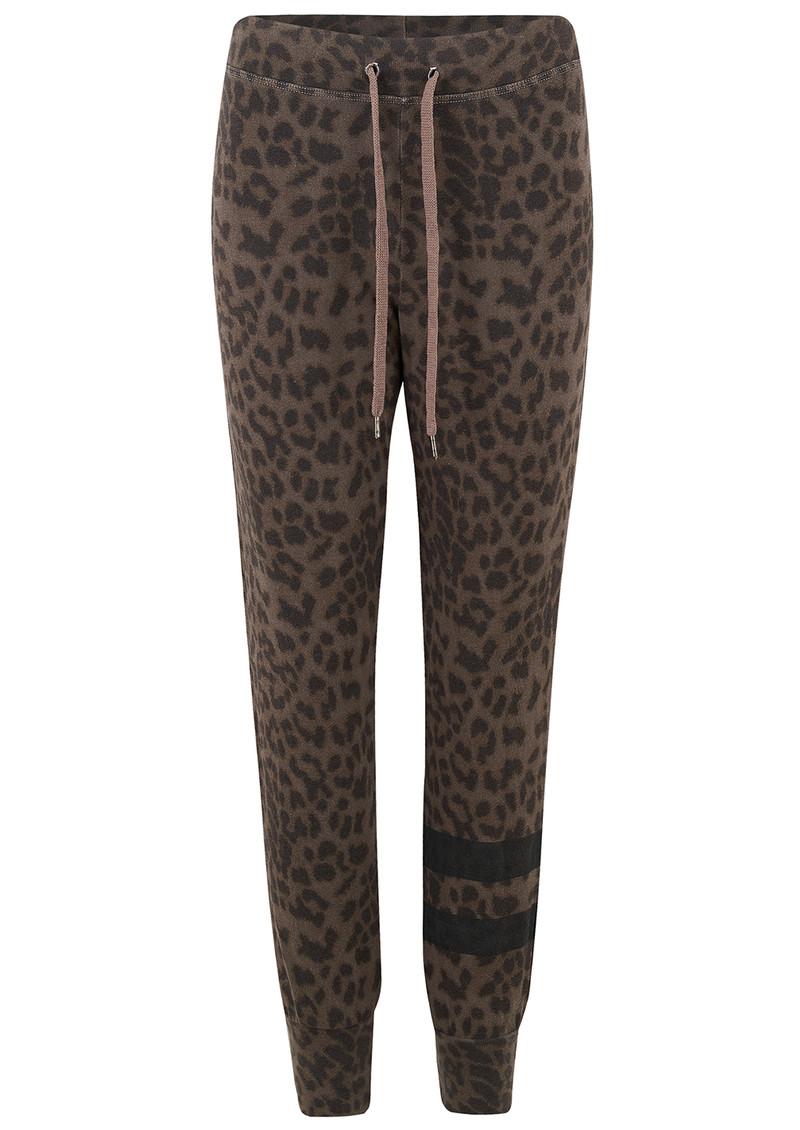 97649ffac8dd Leopard Stripe Jogger Pants - Mink main image
