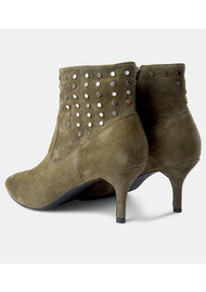 SHOE THE BEAR Agnete West Suede Boots - Green