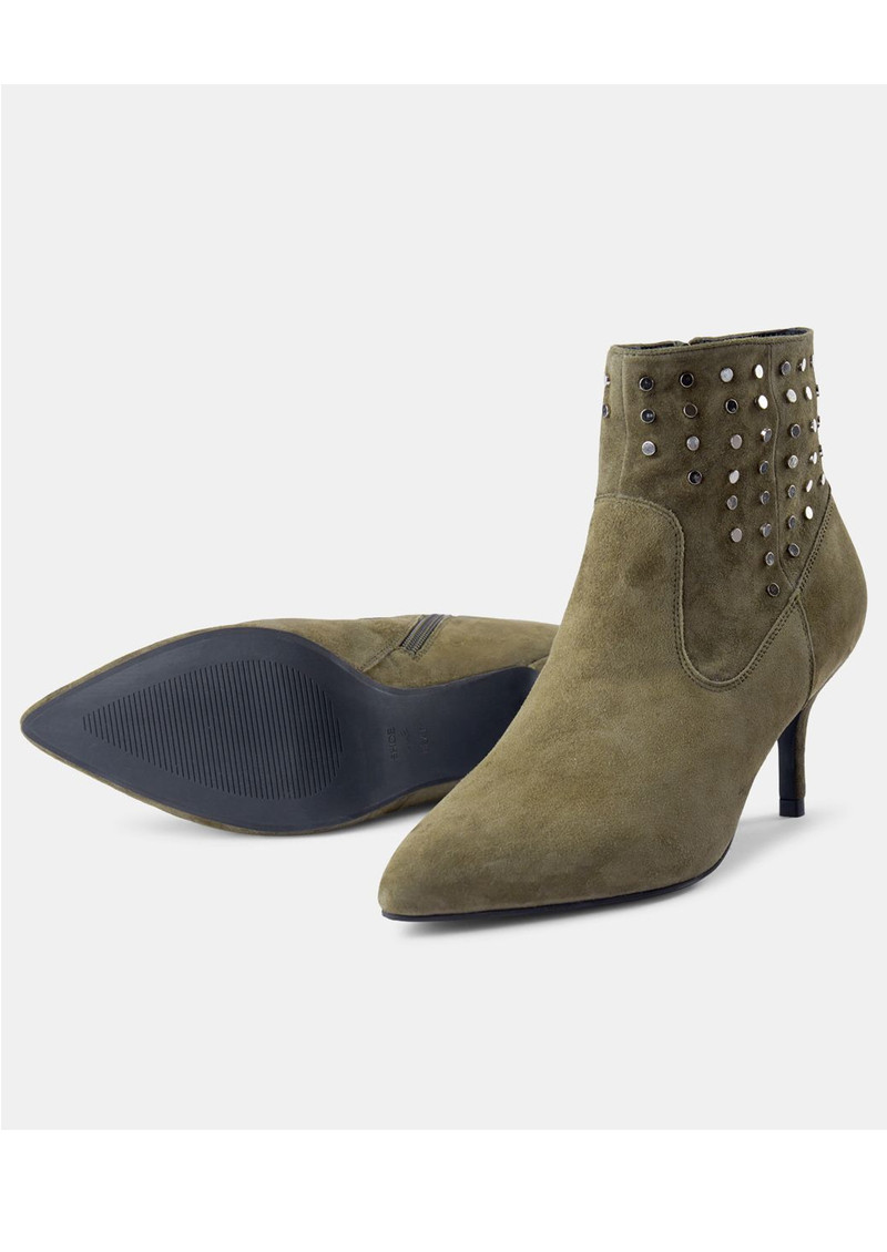 SHOE THE BEAR Agnete West Suede Boots - Green main image