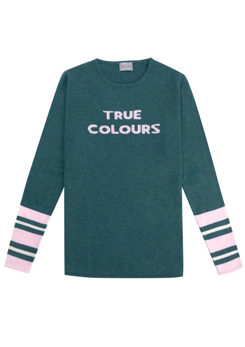 ORWELL + AUSTEN True Colours Jumper - Green main image