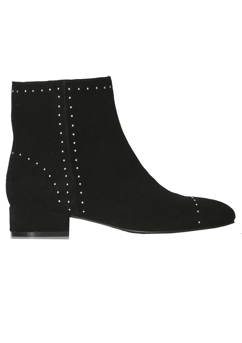 SHOE THE BEAR Rose Studs Suede Ankle Boot - Black main image