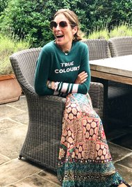 True Colours Jumper - Green