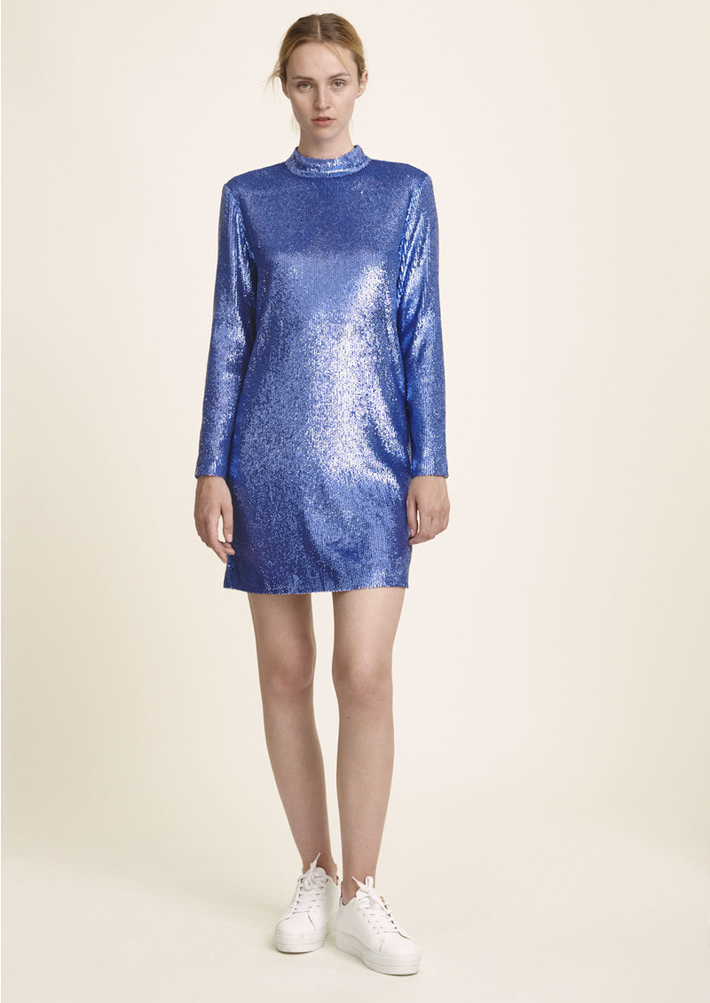 SAMSOE & SAMSOE Theta TN Sequin Dress - Bijou Dress main image