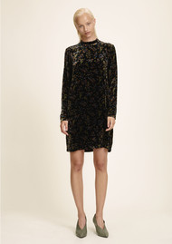 SAMSOE & SAMSOE Theta TN Velvet Dress - Vintage Flower