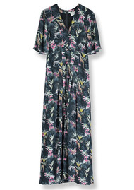 Pyrus Dahliah Maxi Silk Dress - Masai Print