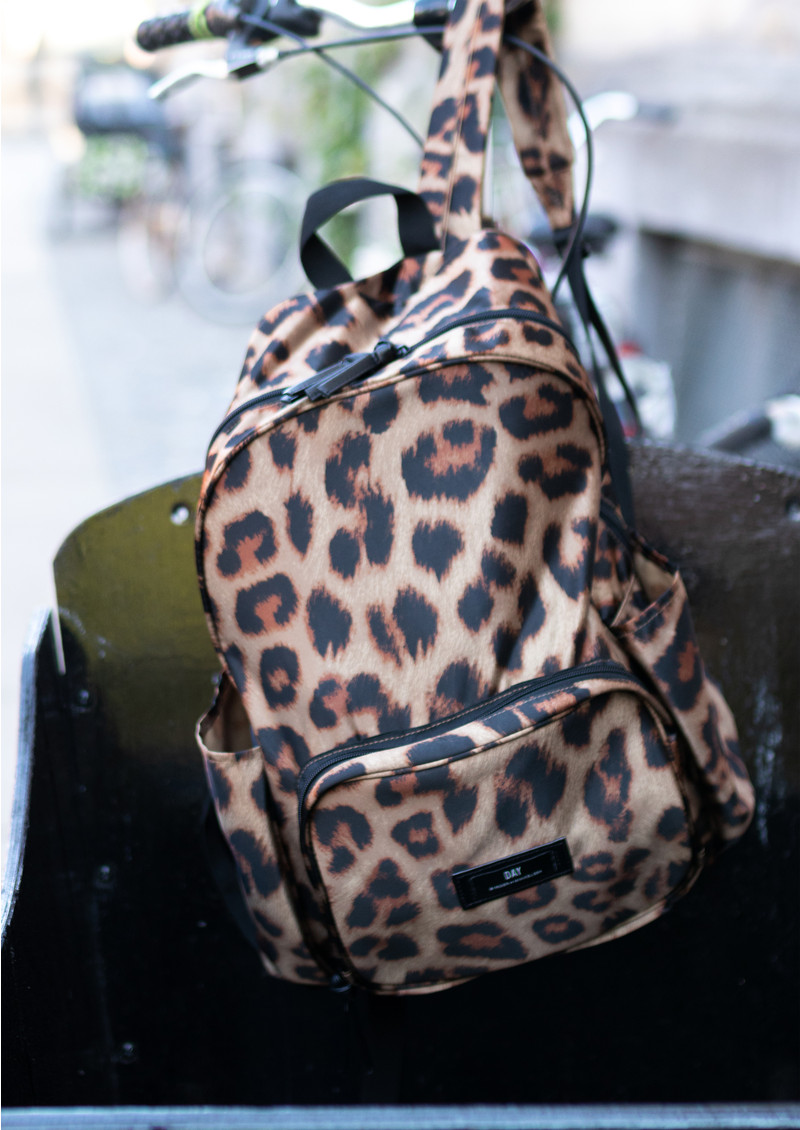 Day Birger et Mikkelsen  Gweneth P Leo Backpack - Leopard main image