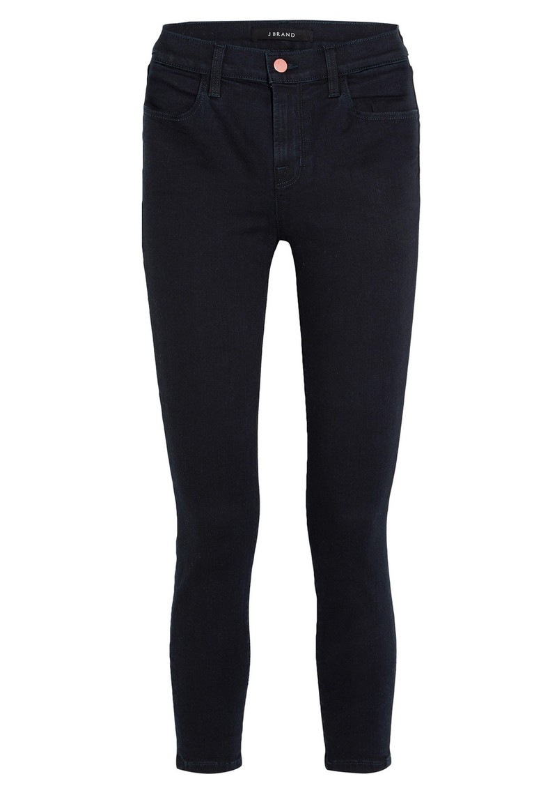 Alana High Rise Cropped Super Skinny Jeans - Bluebird main image