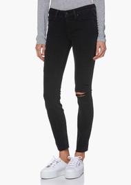 Paige Denim Verdugo Ankle Raw Jem Skinny Jeans - Faded Noir