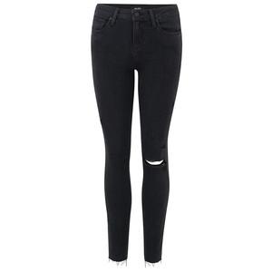 Verdugo Ankle Raw Jem Skinny Jeans - Faded Noir