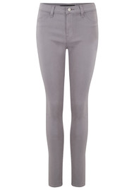 J Brand 485 Mid Rise Super Skinny Sateen Jeans - Gemstar
