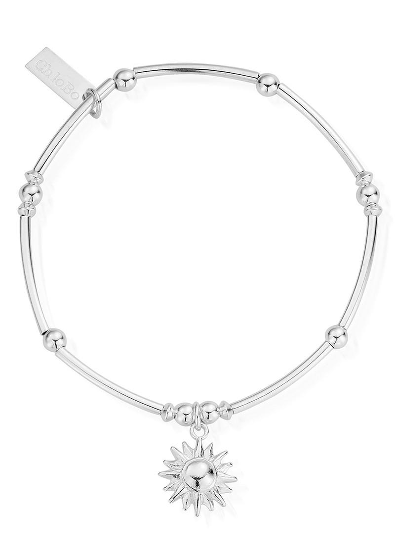 ChloBo Mini Noodle Ball Sun Bracelet - Silver main image