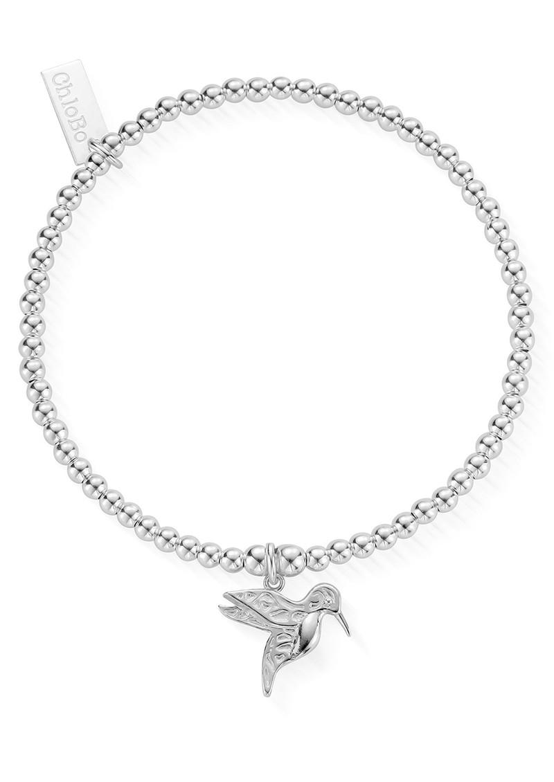 ChloBo Cute Charm Hummingbird Bracelet - Silver main image