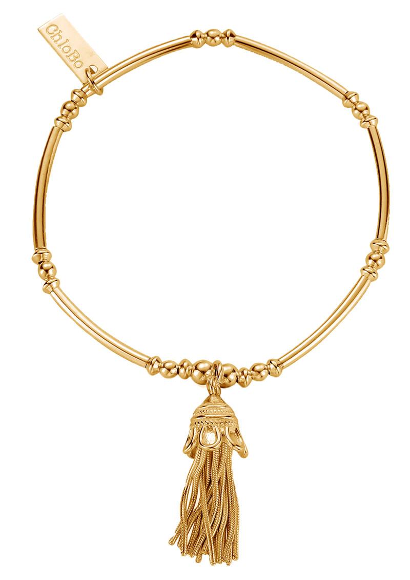 ChloBo Didi Tassel Bracelet - Gold main image
