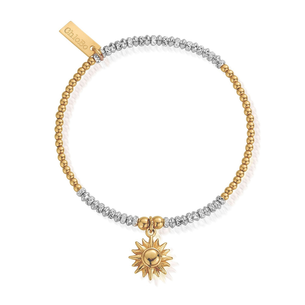 Sparkle Sun Bracelet - Gold & Silver