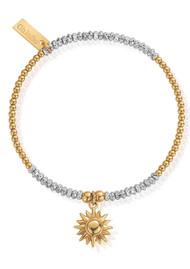 ChloBo Sparkle Sun Bracelet - Gold & Silver