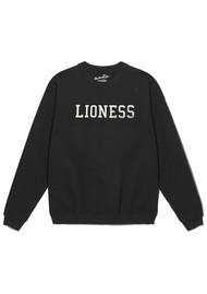 ON THE RISE Lioness Sweatshirt - Black & Gold