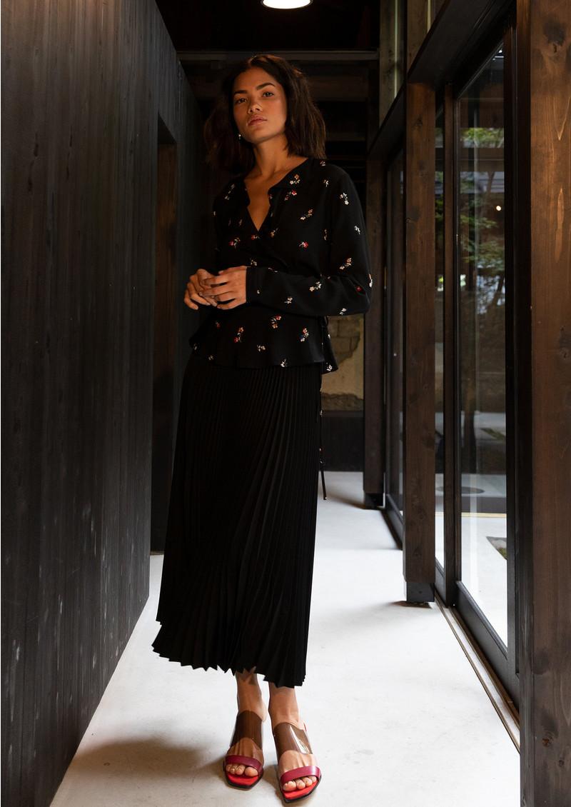 Rails Simone Blouse - Black Kyoto main image
