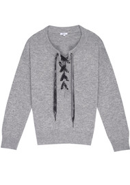 Rails Olivia Sweater - Heather Grey