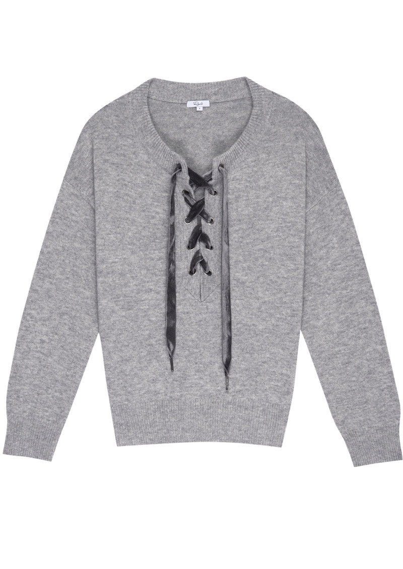 Rails Olivia Sweater - Heather Grey main image
