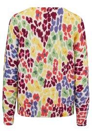 JUMPER 1234 Multi Leopard Print Sweater - Multi