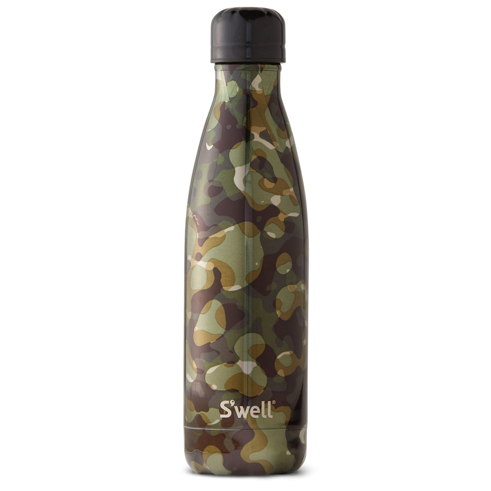 Metallic Camo 17oz Water Bottle - Incognito