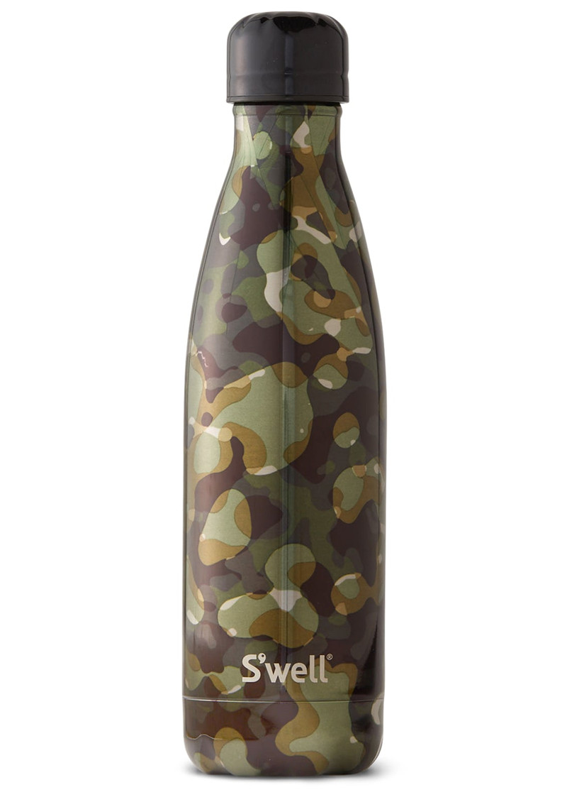 Metallic Camo 17oz Water Bottle - Incognito main image