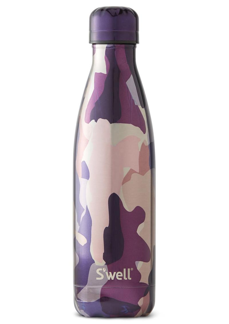 SWELL Metallic Camo 17oz Water Bottle - Sub Rosa main image