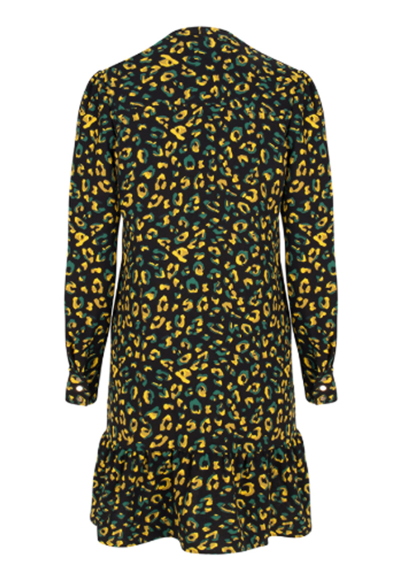 DANTE 6 Layla Flash Dress - Moss Leopard main image