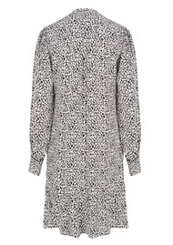 DANTE 6 Layla Flash Leopard Dress - Black & White