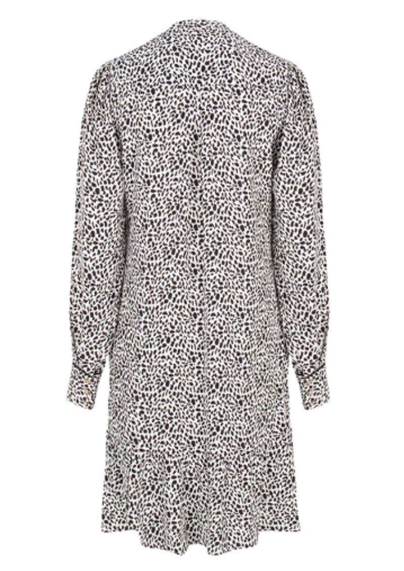 DANTE 6 Layla Flash Leopard Dress - Black & White main image