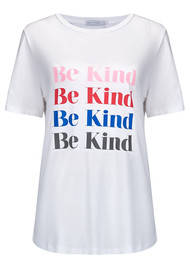 SOUTH PARADE Be Kind Tee - White