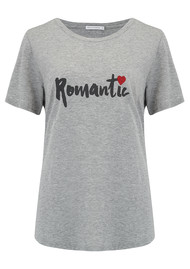 SOUTH PARADE Romantic Tee - Grey