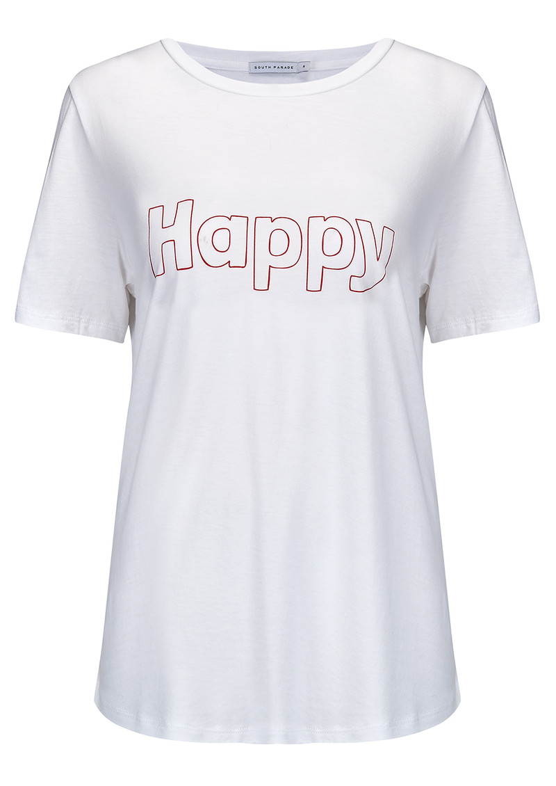 SOUTH PARADE Happy Tee - White main image