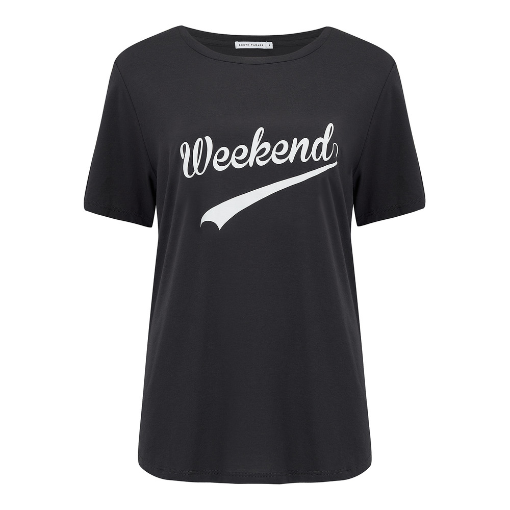 Weekend Tee - Black
