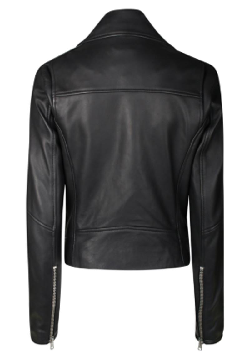DANTE 6 Legend Leather Biker Jacket - Black main image