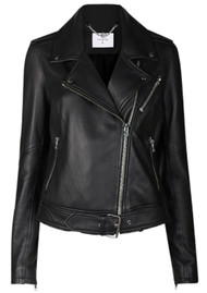 DANTE 6 Legend Leather Biker Jacket - Black