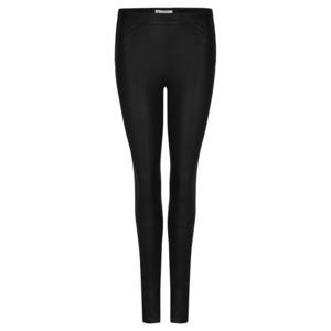 Campbell Leather Leggings - Raven