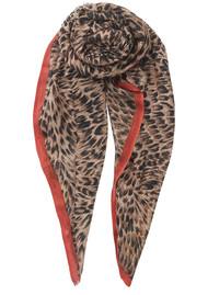 Becksondergaard Emira Leopard Print Scarf - Soft Beige