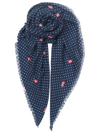 Becksondergaard Love Ruby Scarf - Blue Nights