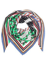 Becksondergaard Sara Silk Scarf - Irish Green