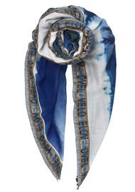 Becksondergaard Kees Wood Wool Scarf - Blue Nights
