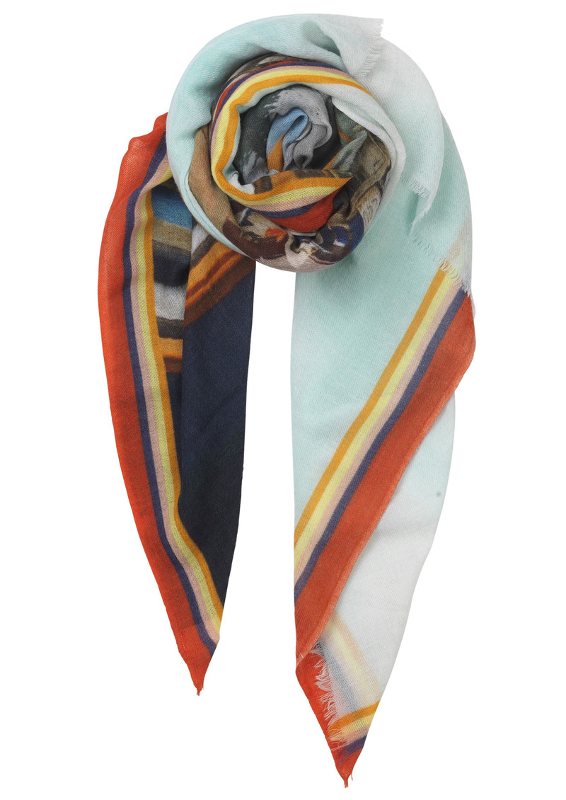 Maria Louise Wool Scarf - Multi main image