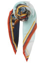 Maria Louise Wool Scarf - Multi additional image