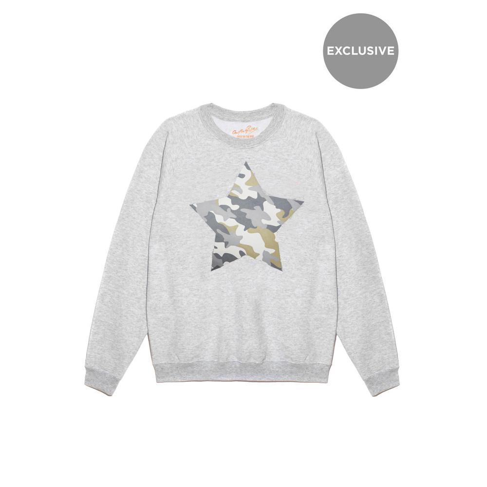 Exclusive Camouflage Star Jumper - Grey