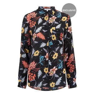 Exclusive Daria Shirt - Black Star Batik