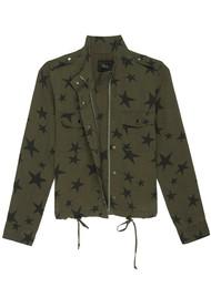 Rails Collins Jacket - Sage Black Star