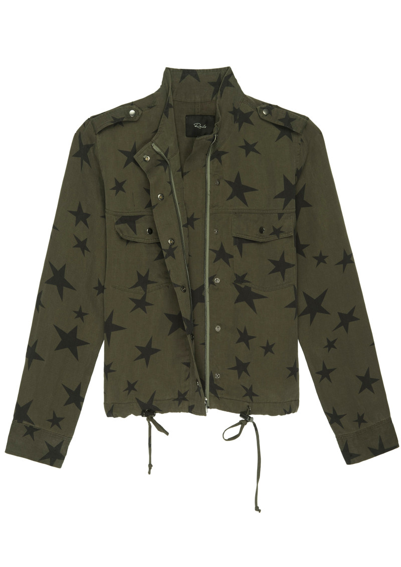 Rails Collins Jacket - Sage Black Star main image