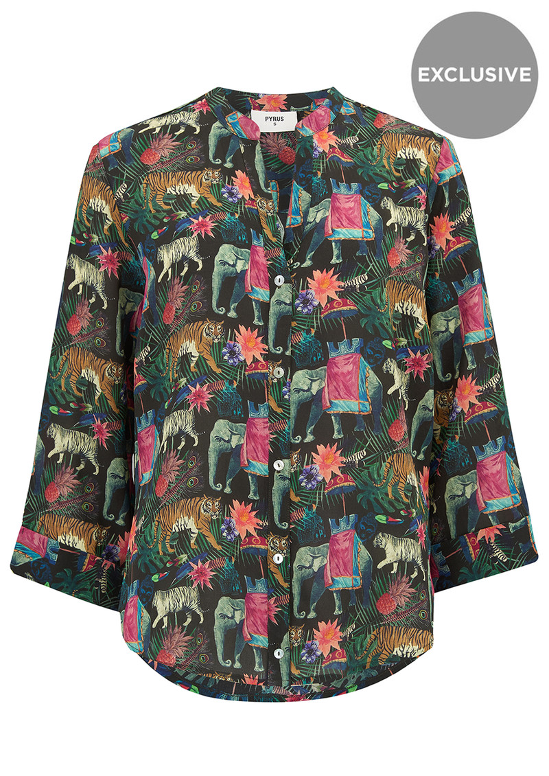 Pyrus Exclusive Hive Blouse - Indian Jungle main image