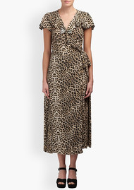 Lily and Lionel Trixie Wrap Dress - Safari