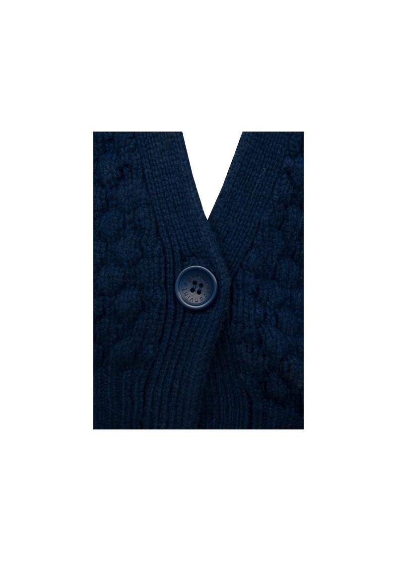 American Vintage Big Sky Country Knit  Cardigan- Ink main image